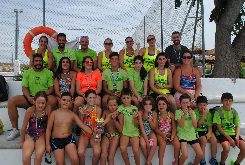 El Club Natación Time Centro Deportivo, OBTIENE LA 1ª POSICIÓN EN LA CLASIFICACIÓN GENERAL del Circuito de Diputación de Natación de Verano 2017.