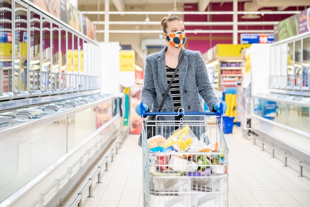bigstock-Woman-Shopping-For-Groceries-I-360409921
